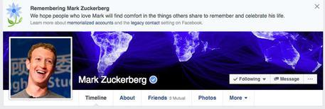 Facebook per errore 'fa morire' utenti, anche Zuckerberg